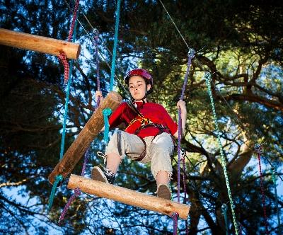 high ropes frame